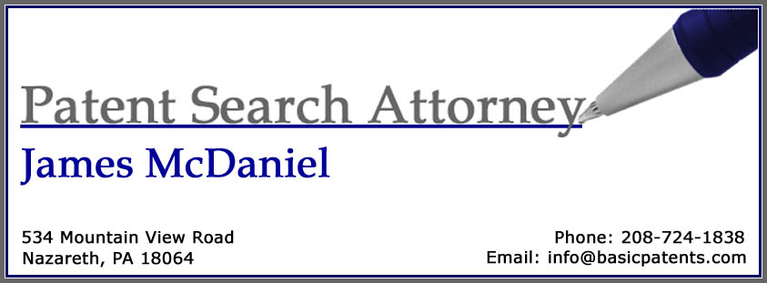Jim McDaniel - Patent Lawyer Information